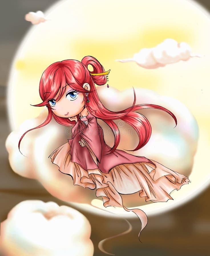 Fairy di Metà di-Autunno illustrazione vettoriale