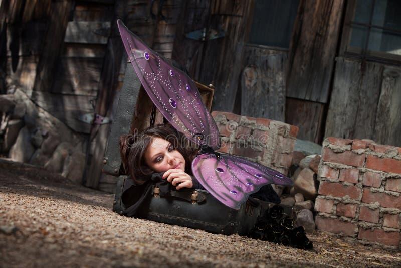 Fairy di riposo immagine stock libera da diritti