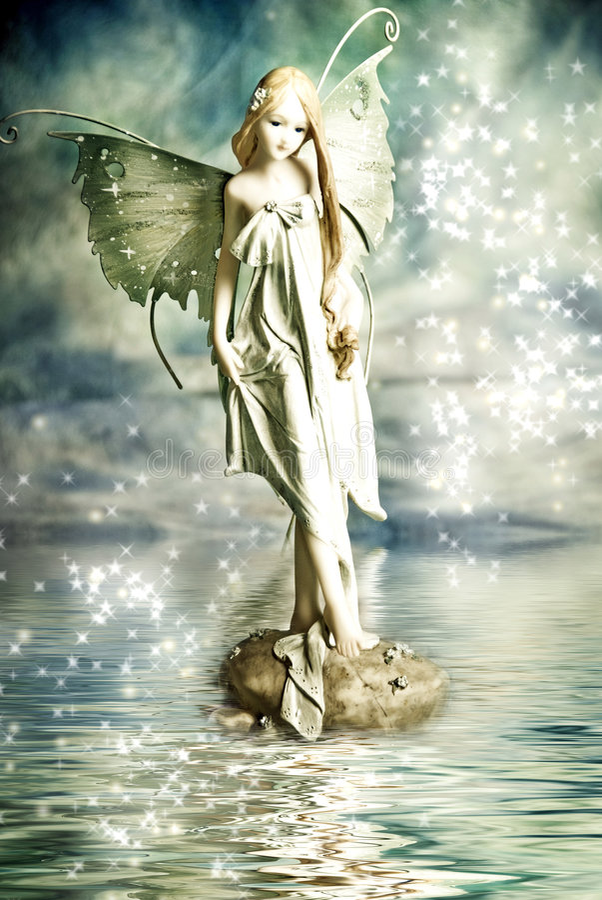 Fairy do duende foto de stock