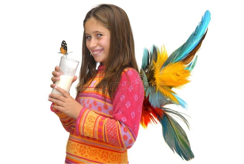 Fairy do leite foto de stock royalty free