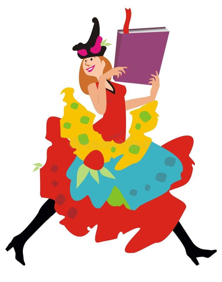 Fairy do livro imagem de stock