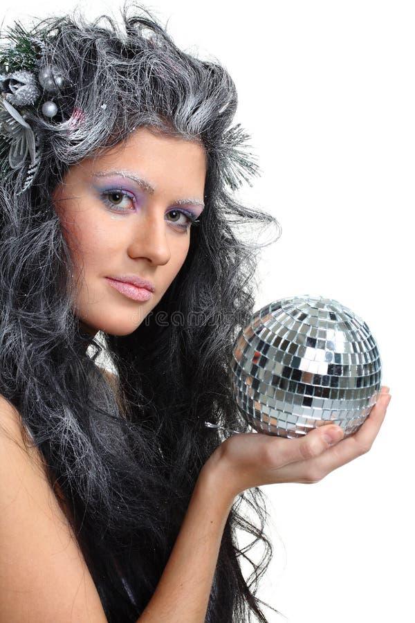 Fairy do Natal fotos de stock royalty free