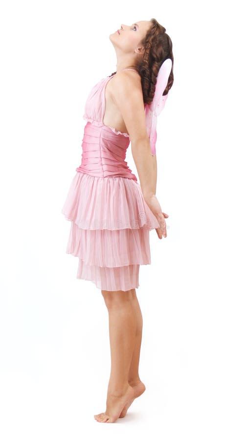 Fairy do vôo. imagens de stock royalty free