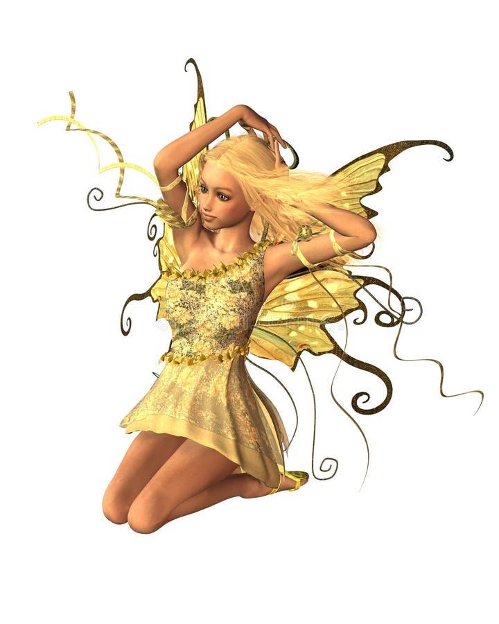 Fairy do verão - 3 ilustração do vetor