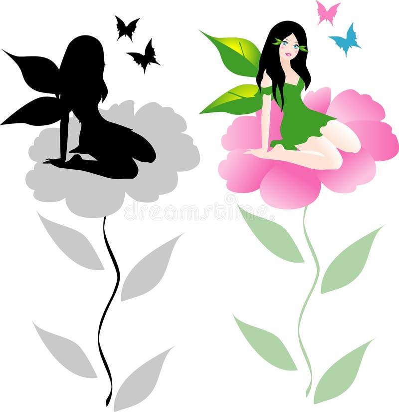Fairy do vetor ilustração stock