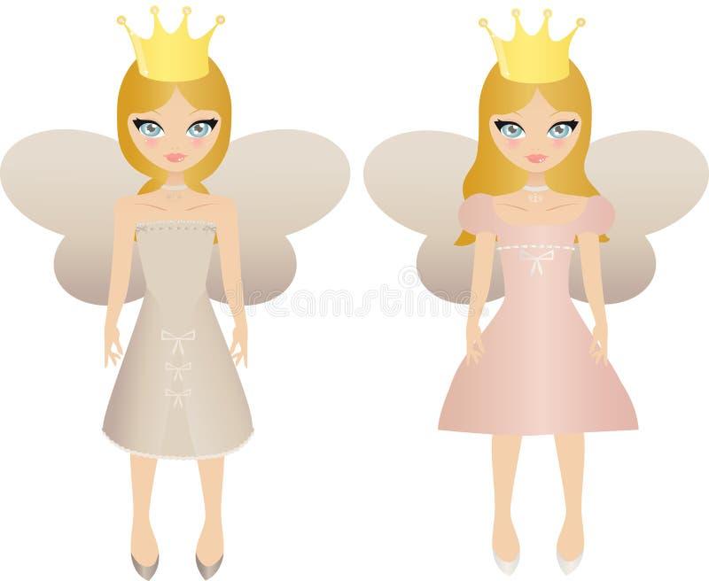 Fairy dolls royalty free illustration