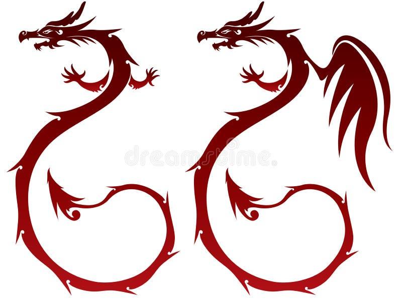 Fairy Dragon illustration royalty free illustration