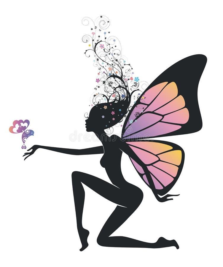 Fairy stock illustration