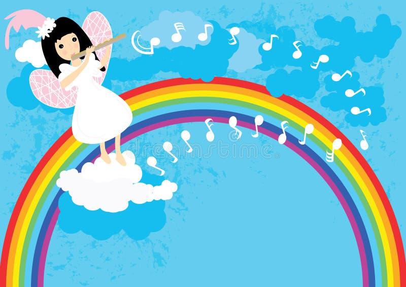 Fairy Flute Sky_eps Stock Image
