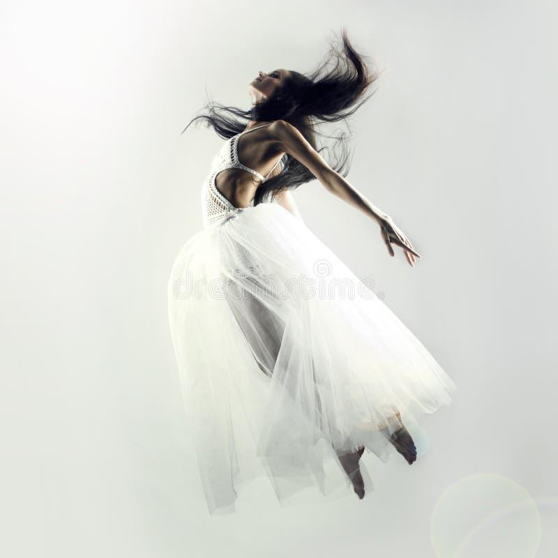 Fairy flying girl stock photos