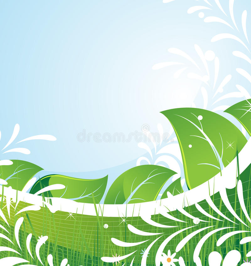 Download Fairy foliage and flowers stock vector. Illustration of design - 20741673