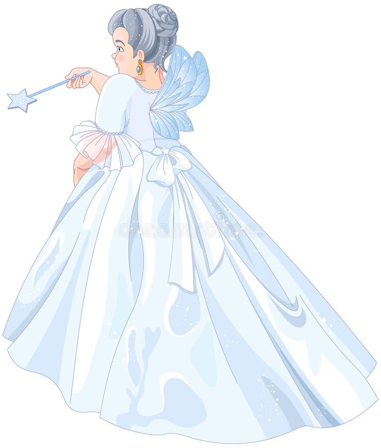 Fairy Godmother royalty free illustration
