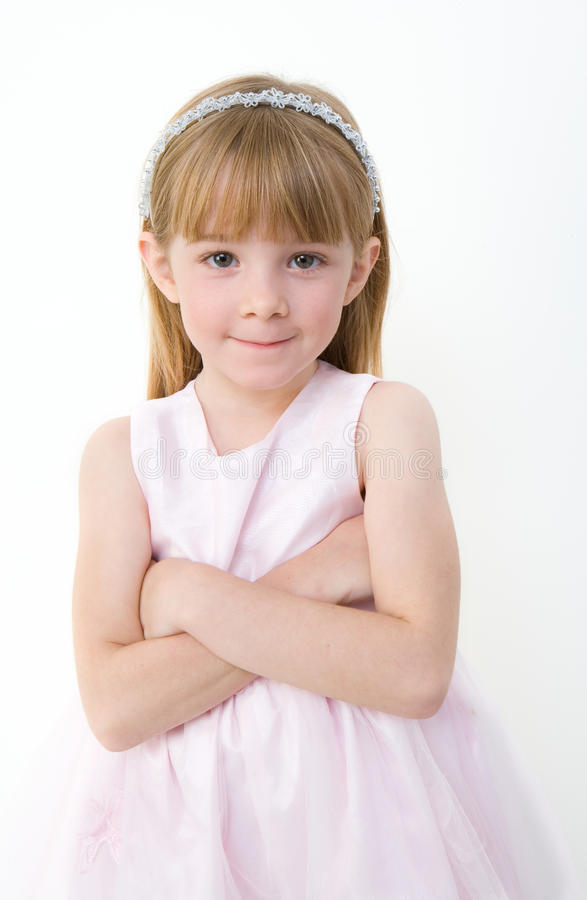 Download Fairy with her arms folded stock photo. Image of cute - 10155482