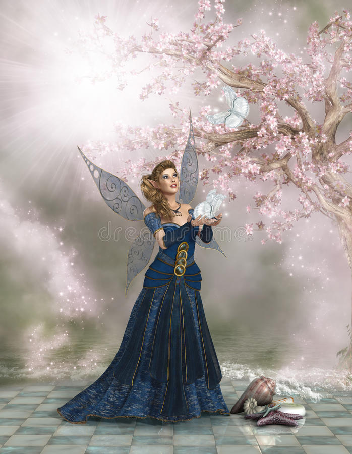Download Fairy Land stock illustration. Image of elves, fantasy - 30903019