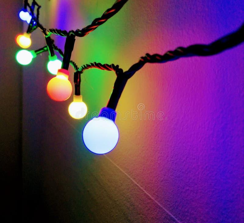 fairy lights στοκ εικόνες