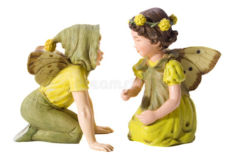 Fairy love. stock images