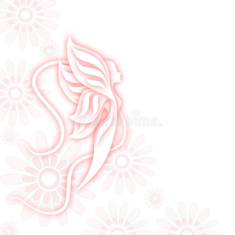 Fairy magico illustrazione vettoriale