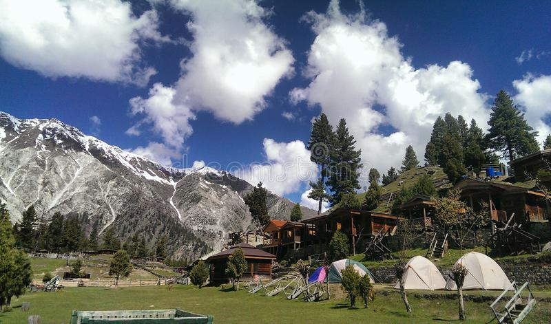 Fairy Meadows royalty free stock photography