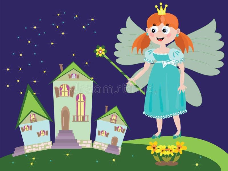 Fairy ou princesa ilustração stock