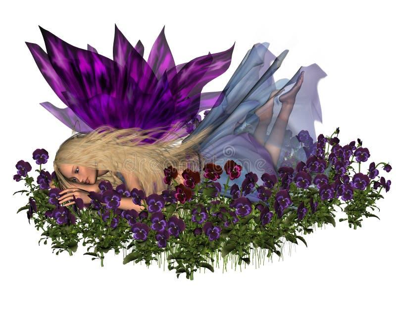 fairy pansy бесплатная иллюстрация