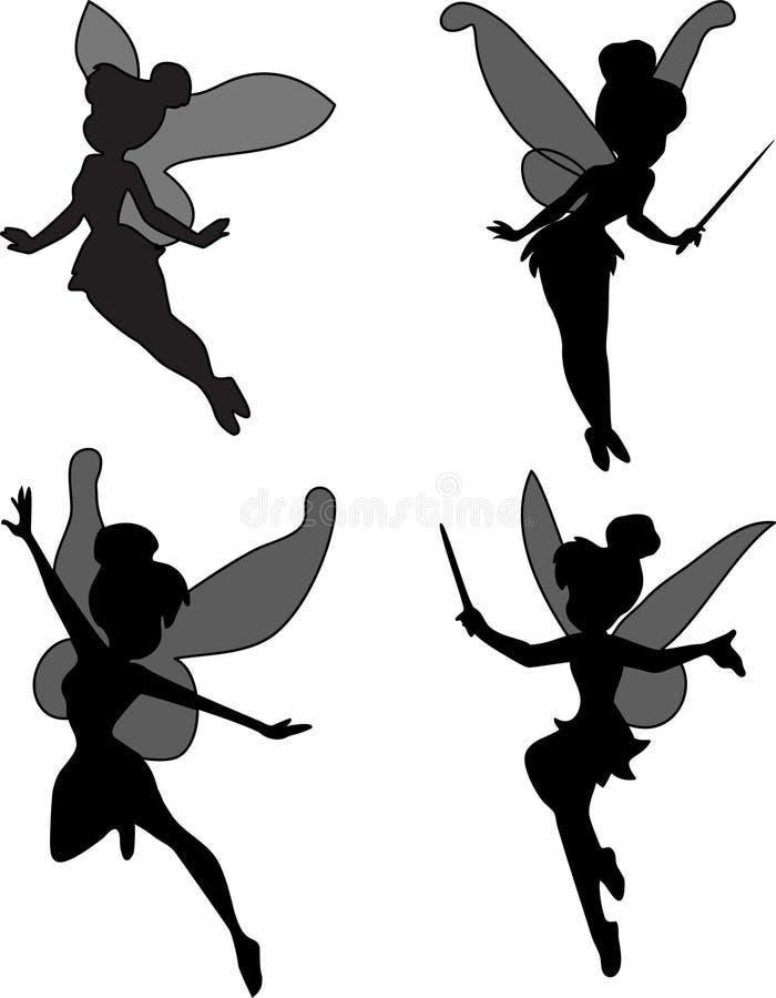 Fairy pequeno ilustração stock
