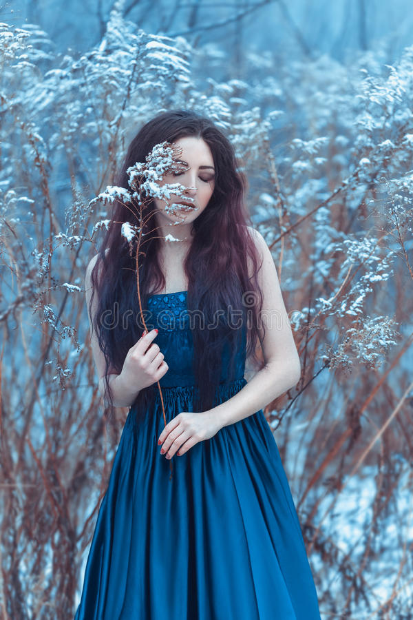 Fairy picture with the atmosphere of melancholy royalty free stock image