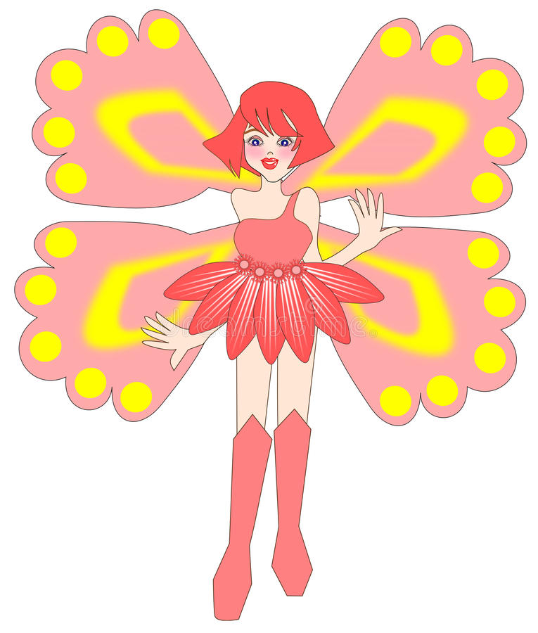 Fairy Butterfly wings royalty free illustration