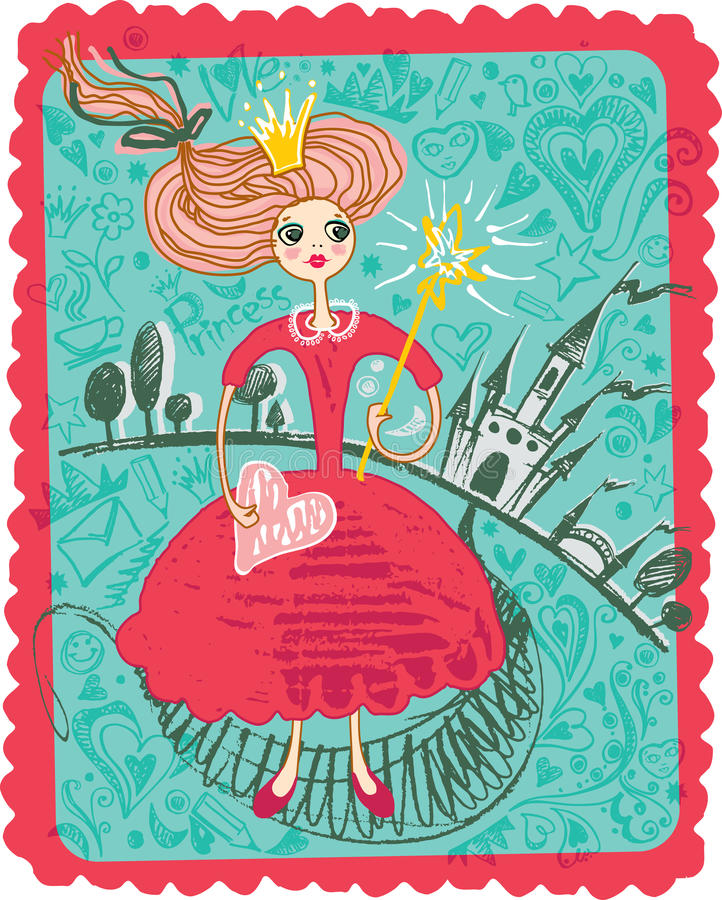Fairy Princess. royalty free illustration