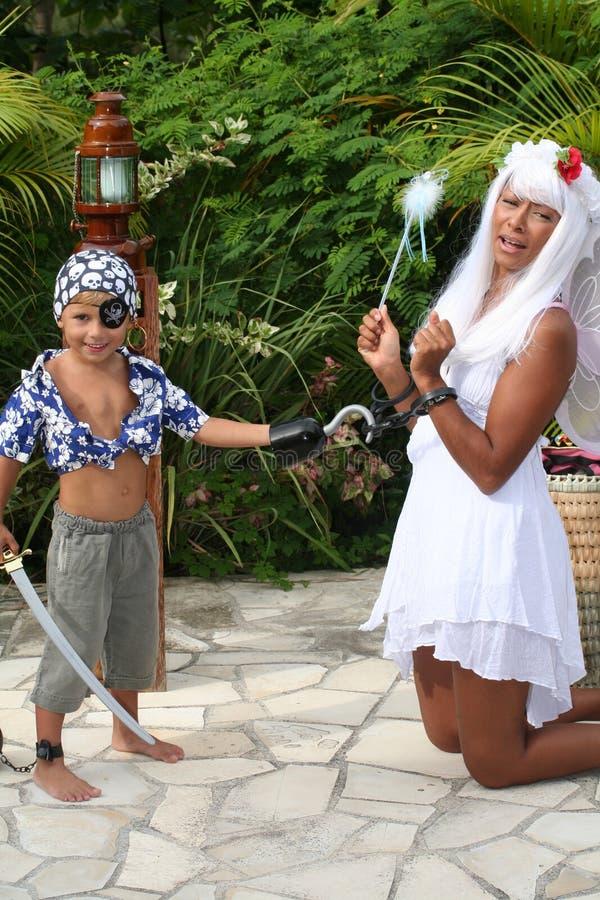 fairy prisonner пирата малыша стоковые изображения