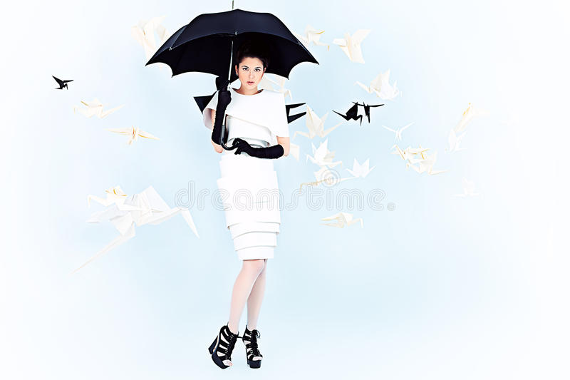 Download Fairy rain stock image. Image of haute, hair, adult, gorgeous - 31996989