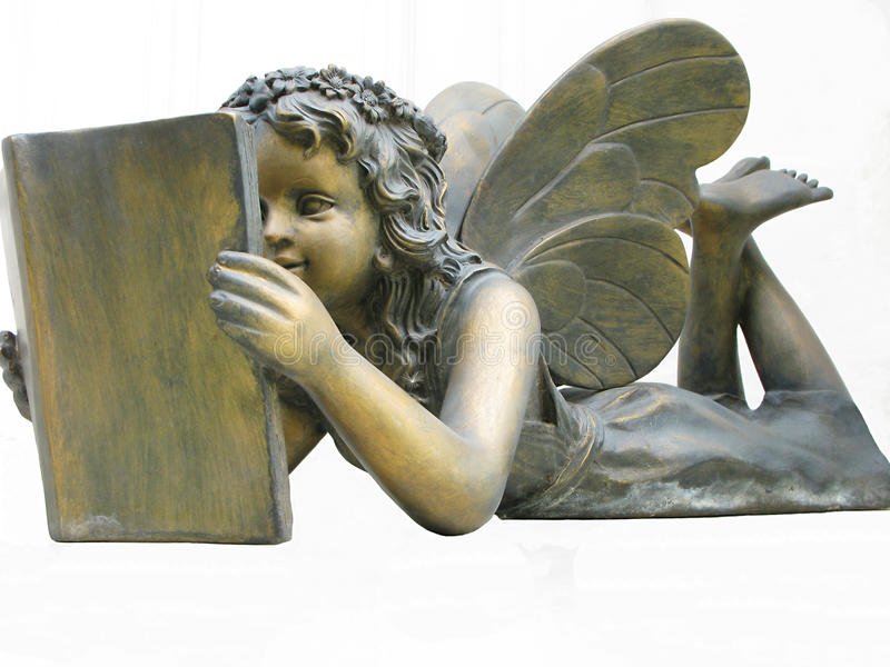 A Fairy Reading stock images