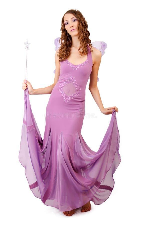 Fairy roxo. imagem de stock