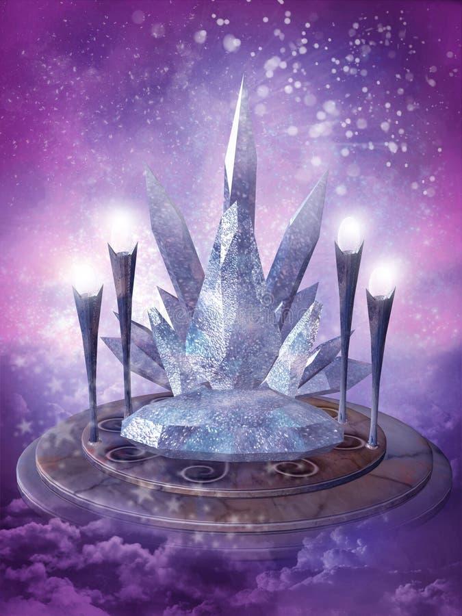 Fairy scenery 10 royalty free illustration