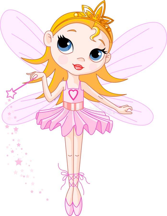 Fairy sveglio illustrazione vettoriale