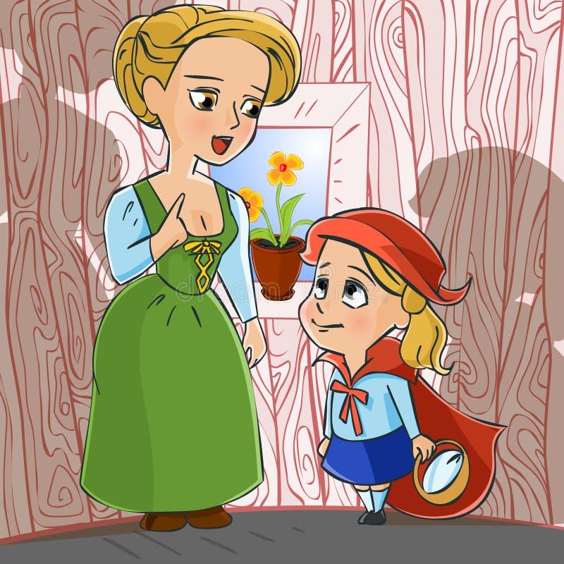Fairy tale 08 royalty free illustration