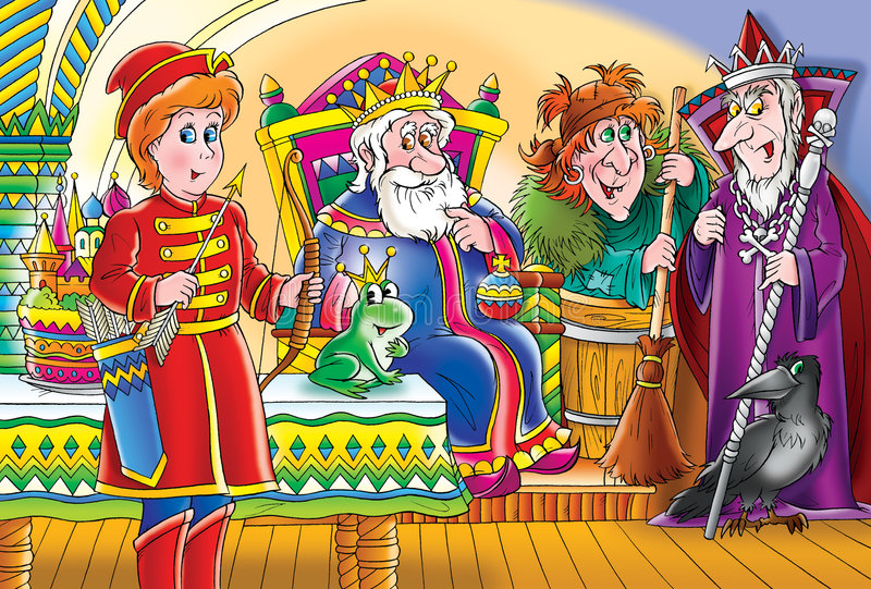Fairy-tale ilustração do vetor