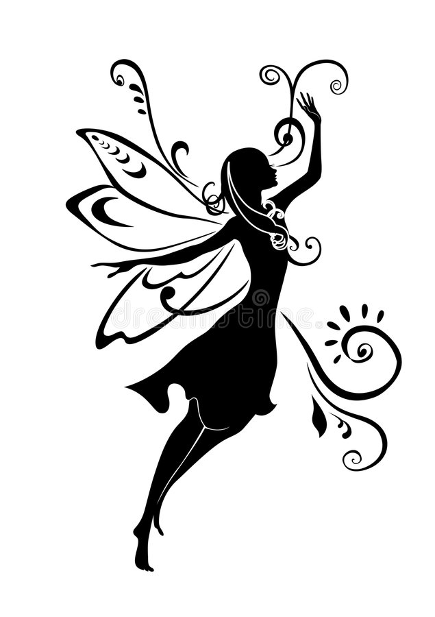 Download Fairy tale stock vector. Image of abstract, flying, design - 7892955