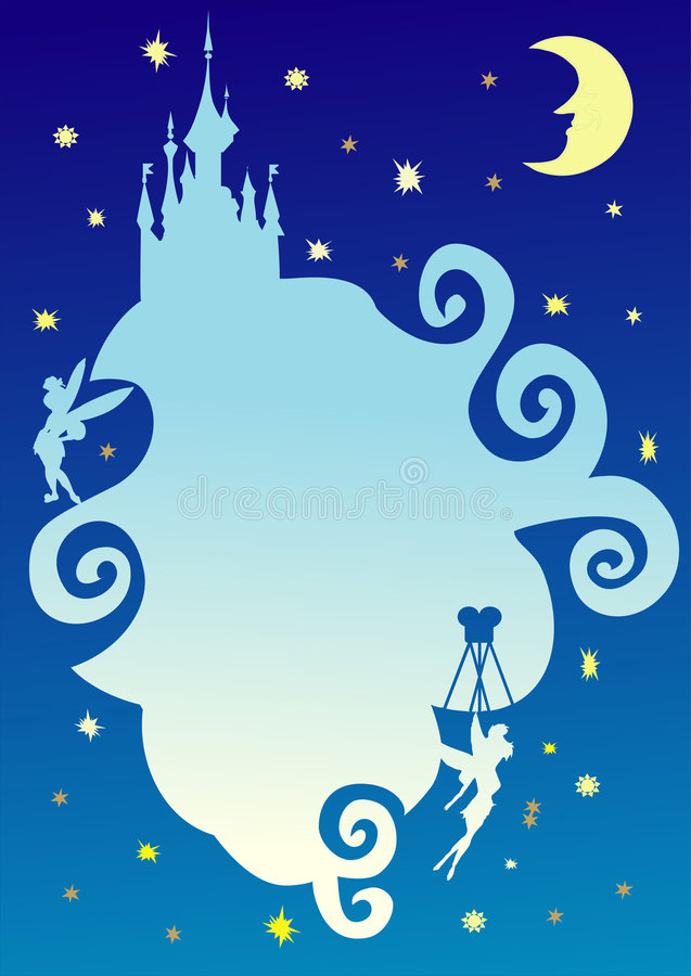 Download Fairy Tale Abstract Night Sky Stock Vector - Illustration of grunge, stain: 2202091