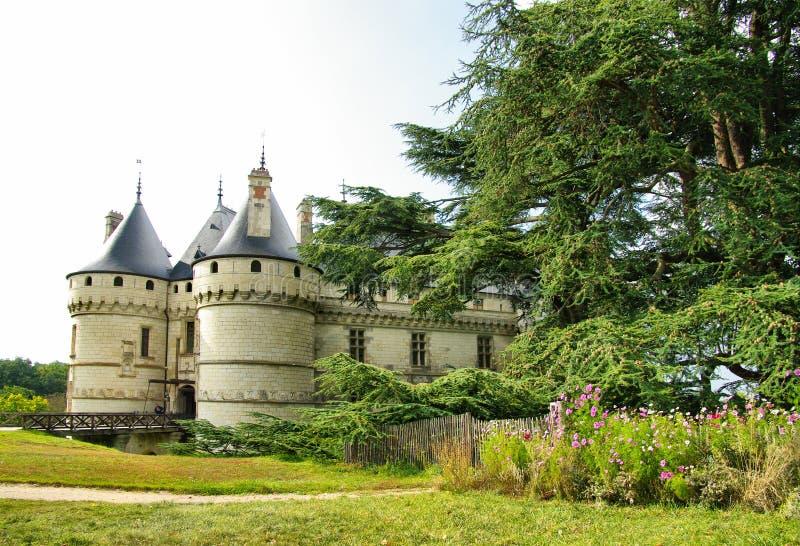 Fairy-tale castle. Chaumont-sur-loire castle - :oire valley stock photos