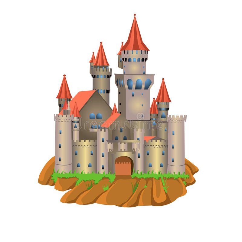 Download Fairy tale castle stock vector. Image of architecture - 32487223