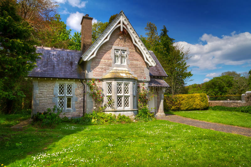 Download Fairy Tale Cottage House Stock Image Of