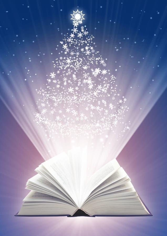 Fairy-tale do Natal ilustração stock