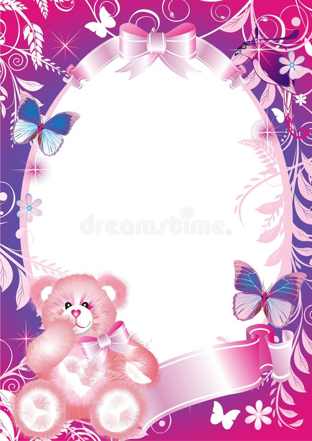 Free Fairy-tale Frame For Photographi Royalty Free Stock Photo - 4450615