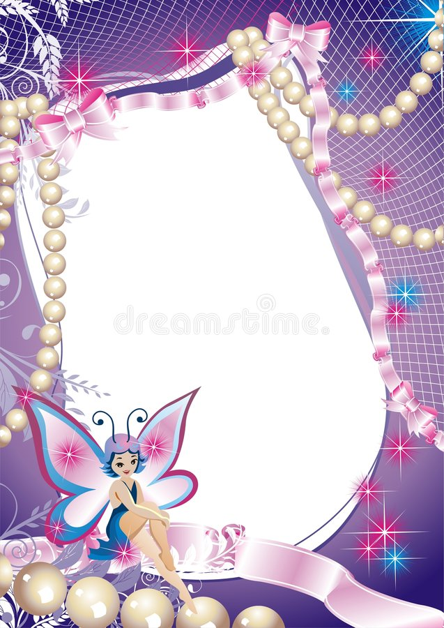 Fairy-tale frame for photographi vector illustration