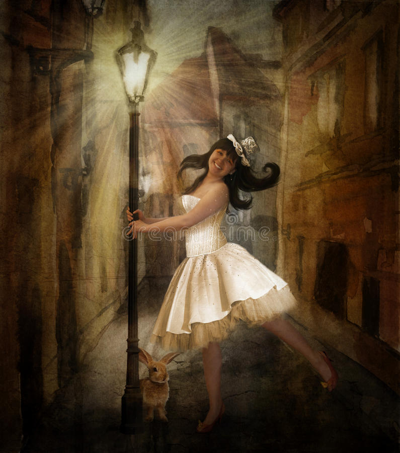 Fairy Tale Girl Royalty Free Stock Image