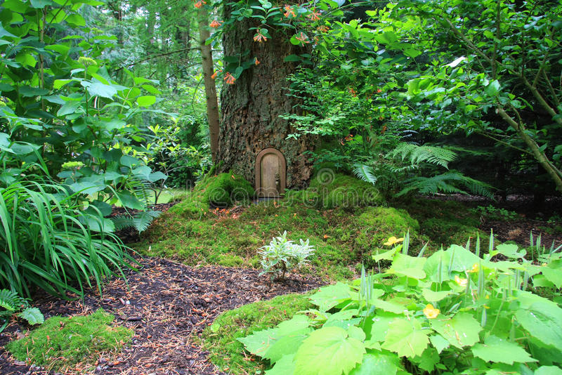 Download Fairy tale house stock photo. Image of fable, stump, magical - 12325386