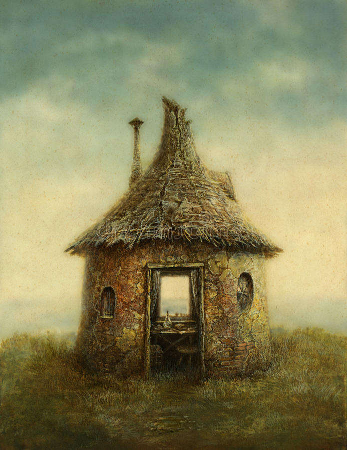 Fairy Tale House stock photos