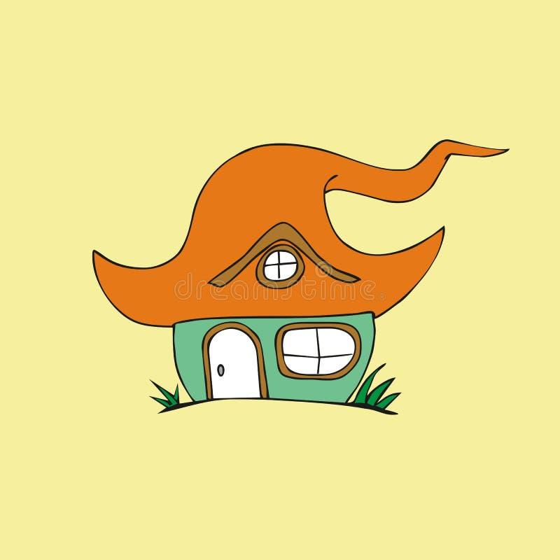 Fairy tale house vector illustration