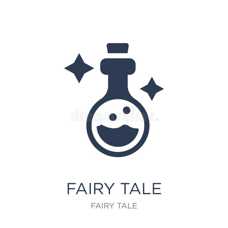 Fairy tale icon. Trendy flat vector Fairy tale icon on white background from Fairy Tale collection vector illustration