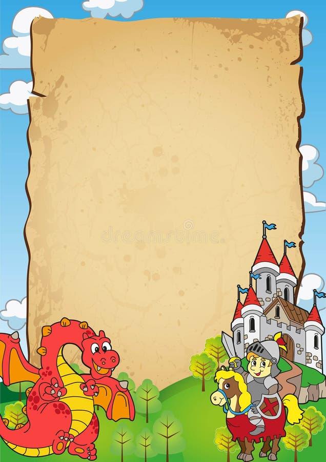 Download Fairy Tale Invitation stock illustration. Illustration of colorful - 17030487